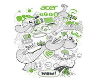 Illustrations for Acer