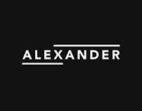 Alex Xander Logo Design