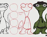 Sieg-Boom Casefiles (Character Design)