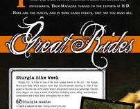 Harley Sturgis Magazine Layout