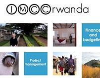 IMCC Rwanda poster redesign