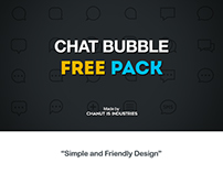 FREE! Chat Bubble pack by Chanut-is-Industries