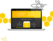 Web Design | Landing page for an app