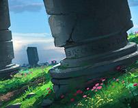 Desolate Pillars