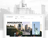 Website UI design - New York Law holding