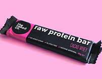 The Naked Co Raw Protein Bar Packaging