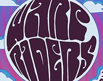 Warp Riders Concert Poster