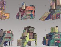 Cyberpunk Structures