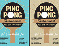 Ping Pong Flyer Template