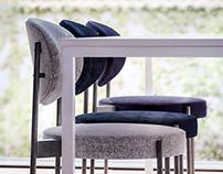 Verpan. 430 series chair.