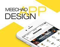 MeeChao App UI Design