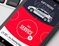 Car Buddy material UI app - v1