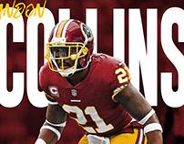 Landon Collins Washington Redskins Jersey Swap