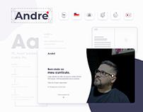 Marca + Site pessoal | André Bernardes