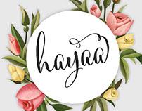 Branding: Hayaa Handmade