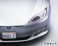 Tesla Model S Low-poly (Official)