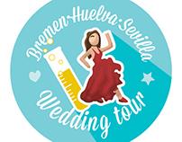 Chapitas para boda | Wedding badges