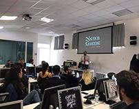 """Corso di """"NewsGame"""" / Perugia - 2019"""