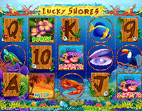 "Slot machine - ""Lucky Shores"""
