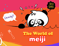 Meiji - Social Media Creatives