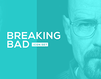 """Breaking Bad"" Icon Set"