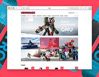 Redesign online store for BOARDSKLAD