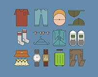 Icon design ( Travel icons )