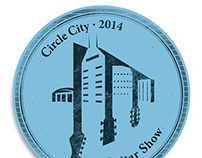 Identity Logo  ||  Circle City Guitar Show 2014