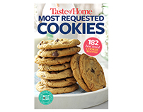 Cookbook Design | Taste of Home Most Requested Cookies