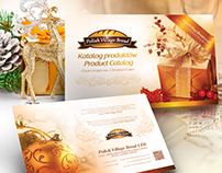dm2agency - Christmas cake catalog design