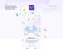 Gamefeed App