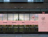Design of fasade , posters, discount card for EpilBar