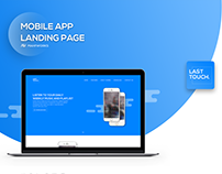 MahfWorks | Last Touch App Landing Page