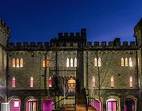 10,000 sqft UK castle transformed into cool workplace.