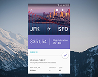 Material Designed Tickets app