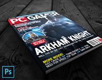 PC Gamer Arkham Mockup