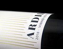 Ardido - Wine Label