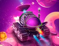 SPACE FANTASY Oscar Ulloa Creativo