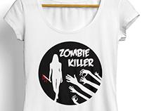 T-Shirt Zombie Killer