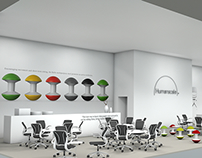 Humanscale Trade Stand