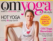 OM Yoga Magazine Shoot with Tara Stiles