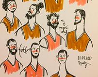 Recent Sketches II