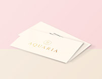 Aquaria - Bakery boutique - Brand Identity