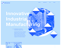 Industrial Manufacturing Concept