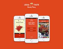 Local Taste App
