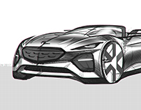 Opel Sketches