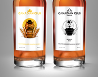 Packaging | Canadian Club Anniversary Label