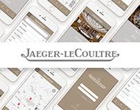 Jaeger-leCoultre - Store Managing App.