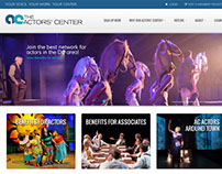 The Actors' Center Website Design
