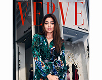 Shriya Saran for Verve, HSP supplement, Jan'18